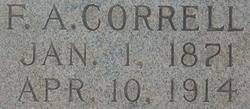 Amos Franklin Correll