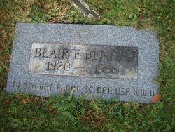 Blair Francis Bender