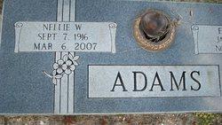 Nellie <i>West</i> Adams