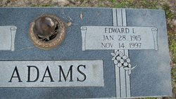 Edward L Red Adams