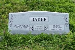 Evelyn <i>Willis</i> Baker