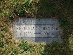 Rebecca Lee <i>Evans</i> Bender