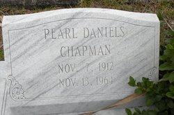 Pearl Irene <i>Daniels</i> Chapman