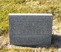 Amy Anna <i>Devlin</i> Mathews