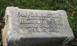 Olive A <i>Booth</i> Andrews