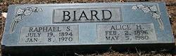 Alice <i>Herndon</i> Biard