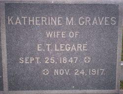 Katherine M. <i>Graves</i> Legare
