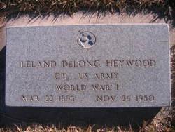 Leland DeLong Heywood