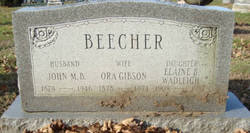 Ora <i>Gibson</i> Beecher