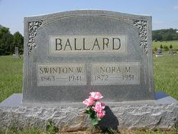 Nora Mabel <i>Cunningham</i> Ballard