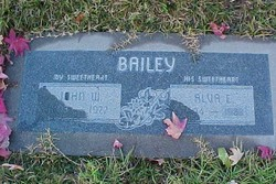 Alva E. <i>Griffin</i> Bailey