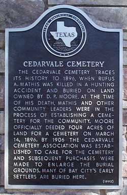 Cedarvale Bay City Cemetery