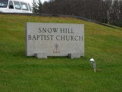 Snow Hill Baptist Church Cemetery