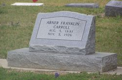 Abner Franklin Carroll