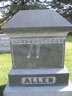 Emma Melissa <i>Cooley</i> Allen
