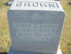 Mary Jane <i>Hardesty</i> Brown