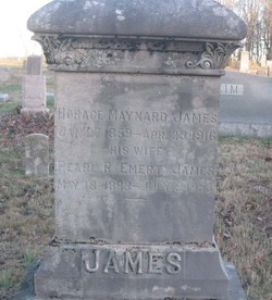 Horace Maynard James