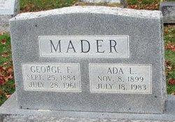 Ada N <i>Lively</i> Mader