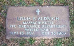 Louis E Aldrich