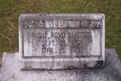 Ruby <i>Boyd</i> Blanton