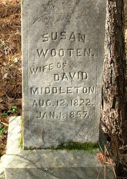 Susan <i>Wooten</i> Middleton