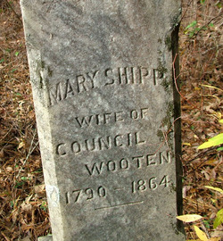 Mary Polly <i>Shipp</i> Wooten