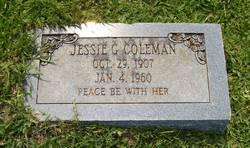 Jessie <i>Gibbs</i> Coleman