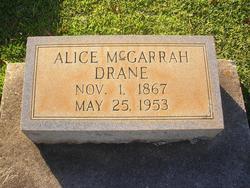 Alice <i>McGarrah</i> Drane