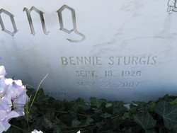 Bennie <i>Sturgis</i> Long