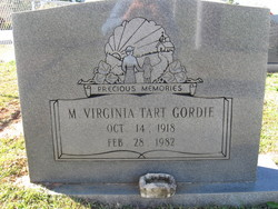 Mildred Virginia Ginger <i>Tart</i> Gordie