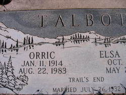 Orric Talbot