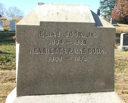 Henrietta <i>Paine</i> Cook