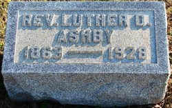 Rev Luther D Ashby