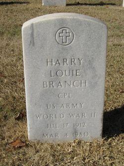 Harry Louie Branch