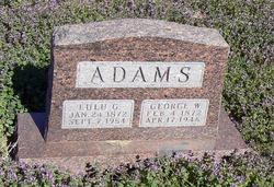Lulu G Adams