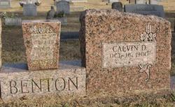 Calvin D. Benton