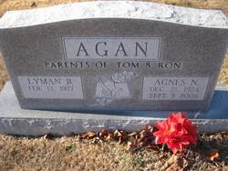 Agnes Nadine <i>Wood</i> Agan