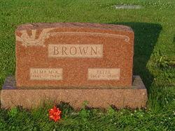 Alma <i>McKinney</i> Brown