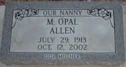 M. Opal Allen