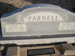 Arkie Delphia <i>Sanders</i> Parnell