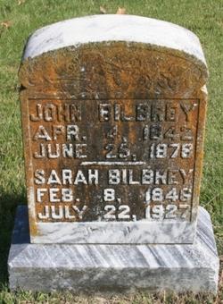 Sarah Frances <i>Ford</i> Bilbrey