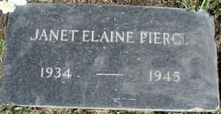 Janet Elaine Pierce