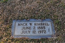 Mack Wilbur Kimbrel