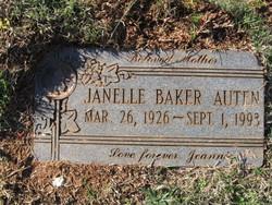 Janelle <i>Baker</i> Auten