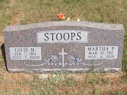 Martha P <i>Ingalls</i> Stoops