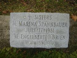Sr M Engelbert O'Brien