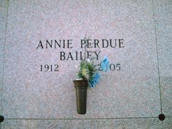 Annie <i>Perdue</i> Bailey
