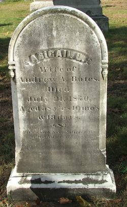 Abigail L. <i>Thayer</i> Bates