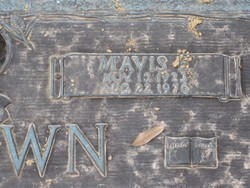 Mavis E Brown