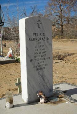 Felix G Barreras, Jr